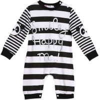 Baby Romper Babies Jumpsuit Boys Girls Long Sleeve Stripe Rompers Clothes Outfit Long Sleeve Infant Clothes Gift